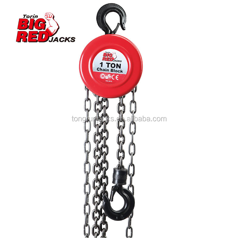 2 Ton Heavy duty lifting goods equipment steel vital hand chain block for sale tRC9020S