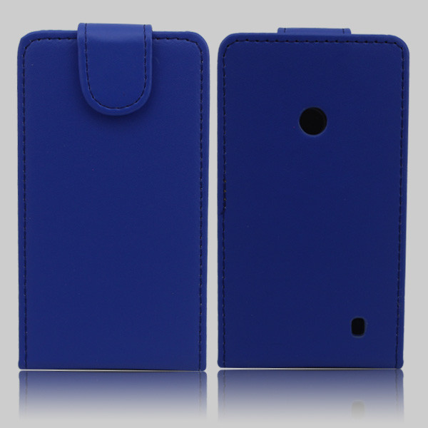 Up and down flip wallet leather cover case for nokia lumia 520