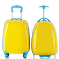 2017 kids hard plastic suitcase cheap trolley bag travelling luggages