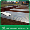 16mm plastic film , 4'x8'/1250mm x 2500mm film faced shuttering plywood/marine plywood used as concrete formwork