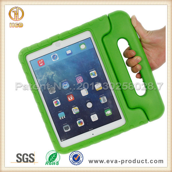 Kids friends handle stand fashion tablet case for ipad air 2