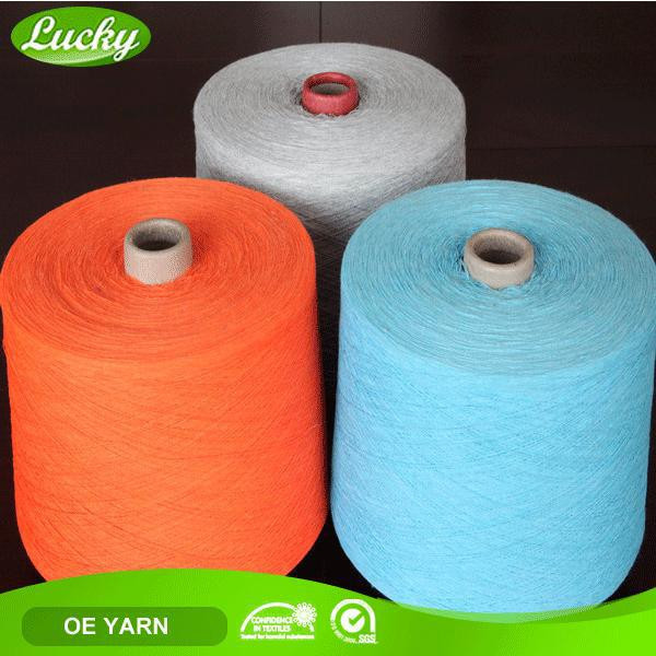 Prompt delivery various colors ice cotton knitting yarn