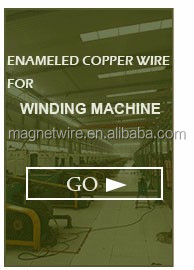 China Heat level 180 200 220 Silver Polyimide Enameled Copper Wire for Motor Transformer Winding