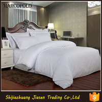 Hotel 100% cotton stripe bed sheet set
