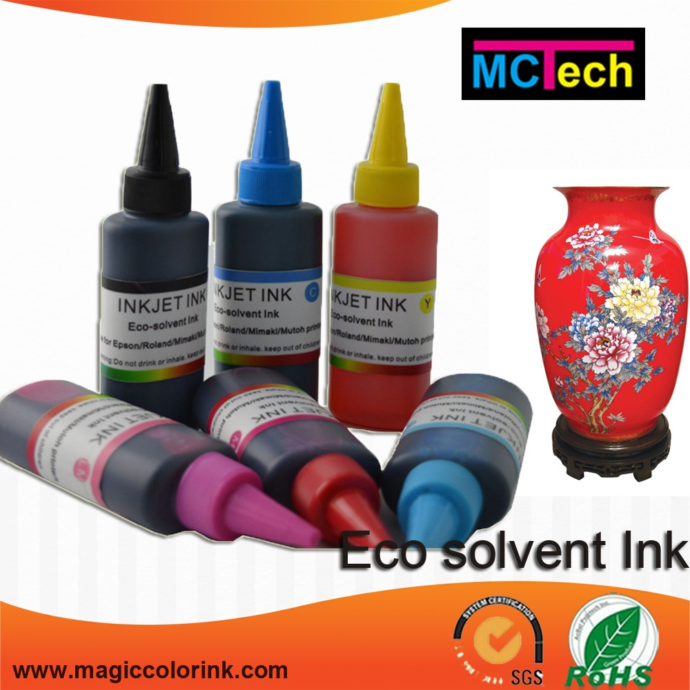 Top quality customer t shirt printing 100% Compatible Mimaki jv3 ss2 eco solvent ink
