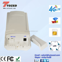 TDD/FDD/UMTS Router SIM wifi 4G CAT5e cable Router Modem with SIM card slot