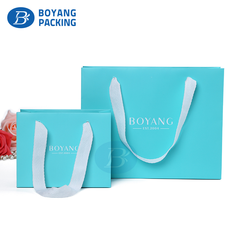 China Wholesale Gloss Fashion shopping Paper Cosmetic gift Bag packaging