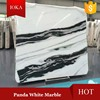 Polishing Walling and Flooring Panda White Marble Black White Marble Tiles and Slab