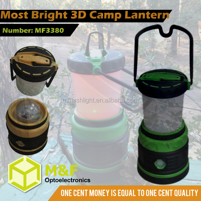 Quality long lasting handy camping led lantern with red led night version