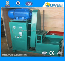 2015 screw type hexagonal charcoal briquette machine