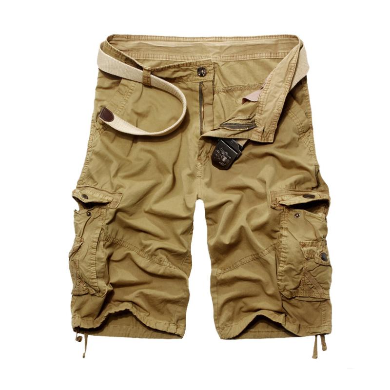 059aaa163e Get Quotations · 2015 Summer Classic Mens Cargo Shorts Casual Pockets Shorts  Sports Military Men Shorts Plus Size Khaki