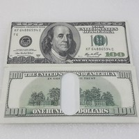 American $100 Dollar Bill Money Wallet