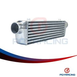 "PQY STORE-550*140*65mm Universal Turbo Intercooler bar&plate OD=2.25"" Front Mount intercooler PQY-IN811-225"
