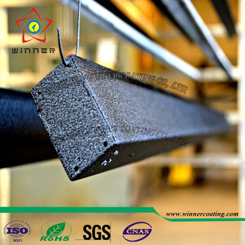 Blak texture effect electrostatic powder coating Paint use on steel products