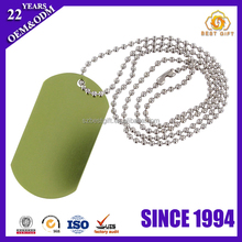 Various custom anodized aluminum alloy casting charm dog tag