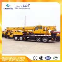 Hoisting Machinery truck crane sizes QY50K-II with the advanced matching technique