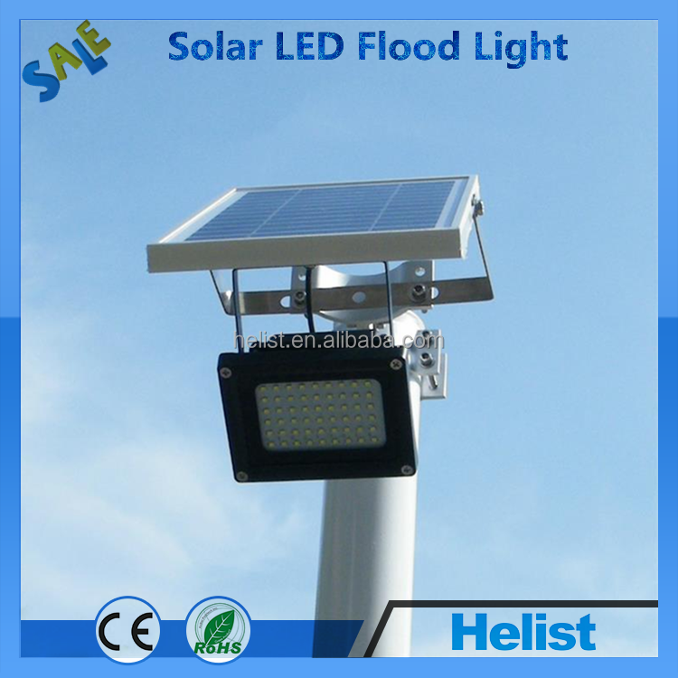 54 Led Outdoor Solar Powered Digital Flood Security Lights