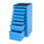 16 Inches 7 drawer portable Blue stainless steel cheap steel locker tool side cabinet