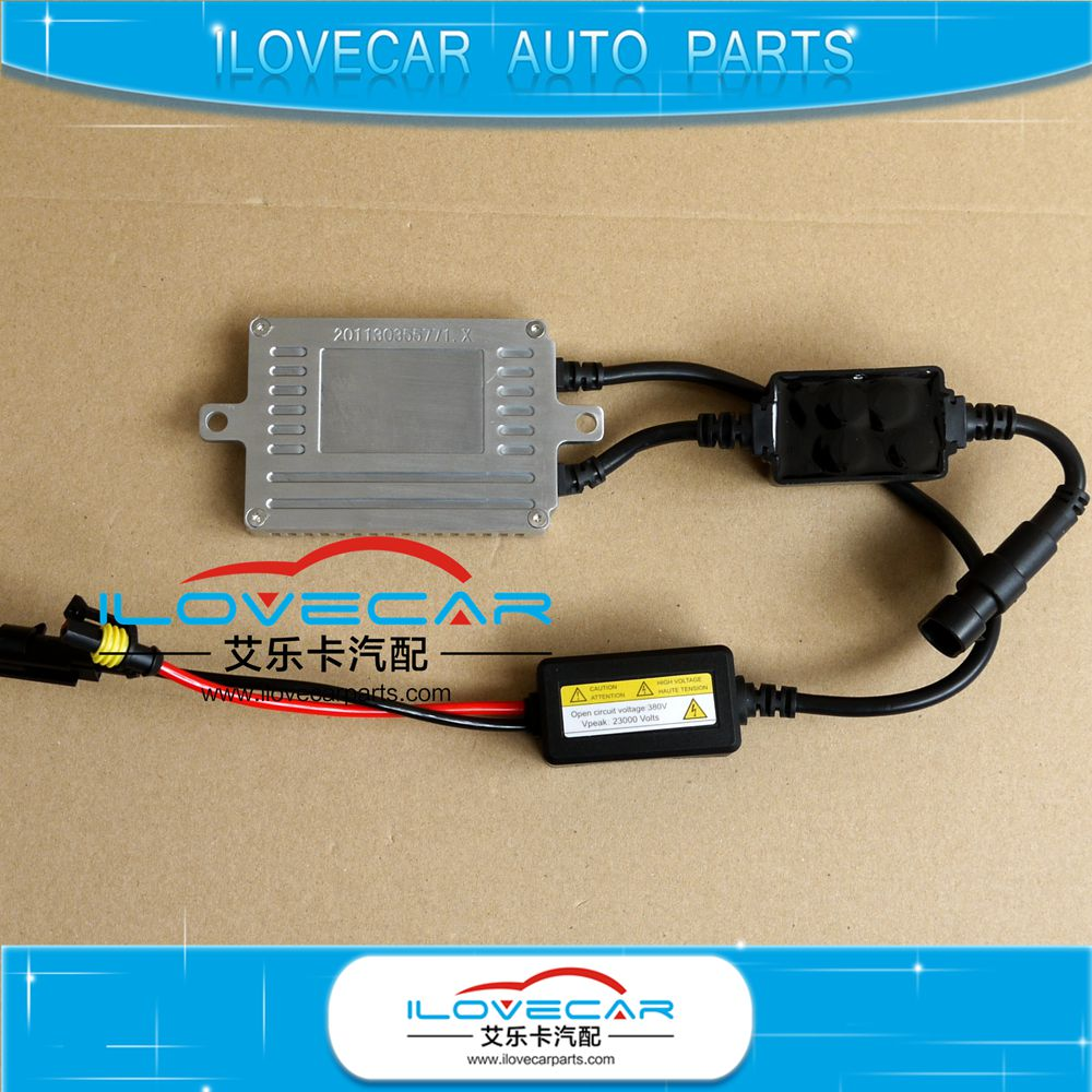 Factory sell price 9-16v canbus ballast/X5 auto car 50w xenon headlight ballast