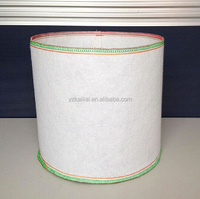 1-300 gallon white round fabric felt planter bag tree bags