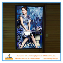 China manufacturer Magnetic Advertising LED Light Box illuminated signs magnet light box for Trade show