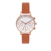 Wholesale Custom Logo Leather Bracelets Lady Wrist Watch
