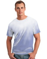 Men's wholesale custom round neck fashion color changing t shirt