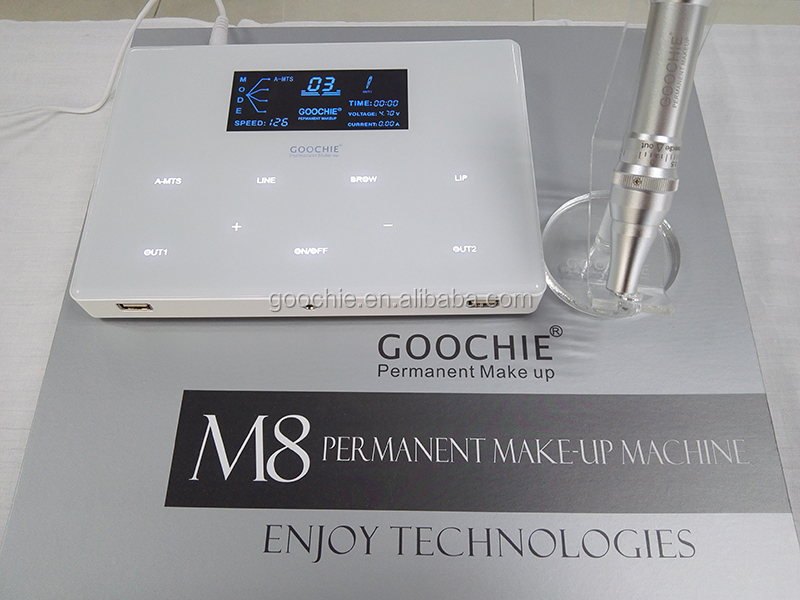 Goochie Permanent makeup digital tattoo machine M8