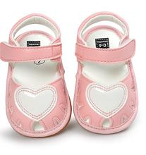 summer Sweet Baby Girls Princess Style Toddler Kids Bowknot Infant PU Anti-skid Baby Shoes