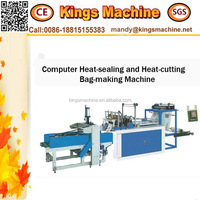 Heat Fully Automatic Seal Cutting Supermaket Bag Making Machine (Ruian Kings company)