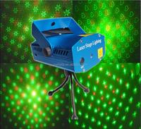 DJ Disco Party Dance Show Light Mini R&G laser star projector