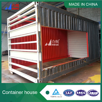 Flat Pack sandwich panel office container in china