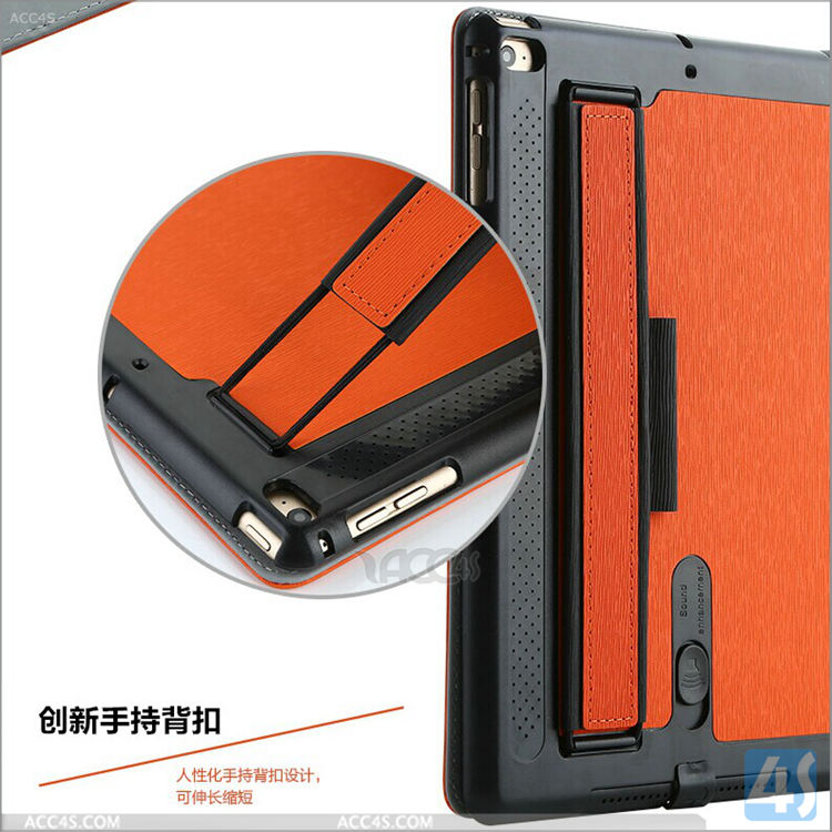 New unique design fashionable multifunction high quality cool stylish for ipad air 2 smart case