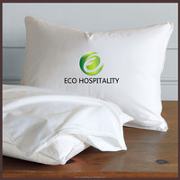 100% Polyester Microfiber Fabric Pillow Protector