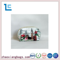 Zhaoxiang latest shell shape london style cheap traveling cosmetic bag