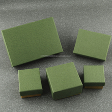 hand made plain color small jewelry gift box