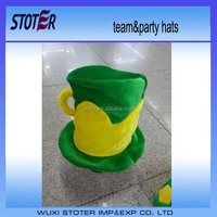 carnival party funny crazy soccer team fan brazil flag hat joker clown hat MCH-0729