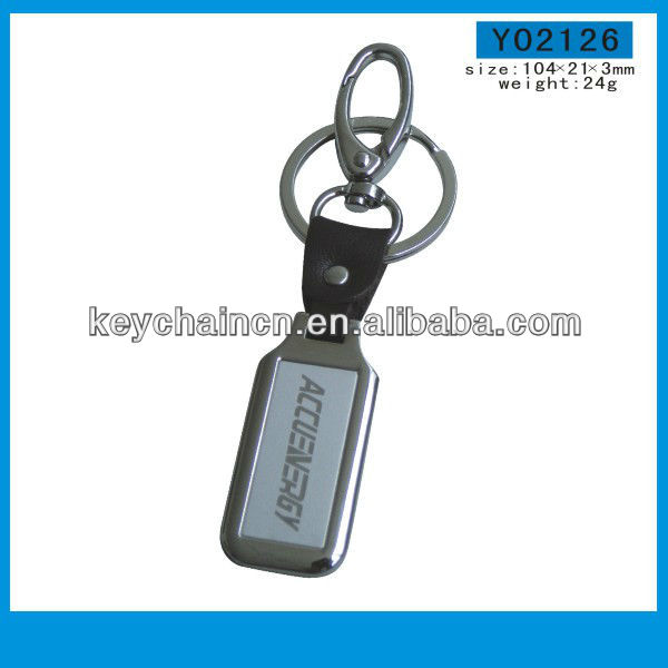 Yingmei Y02126 Useful Custom Metal Key Ring Bulk With Dog Clip