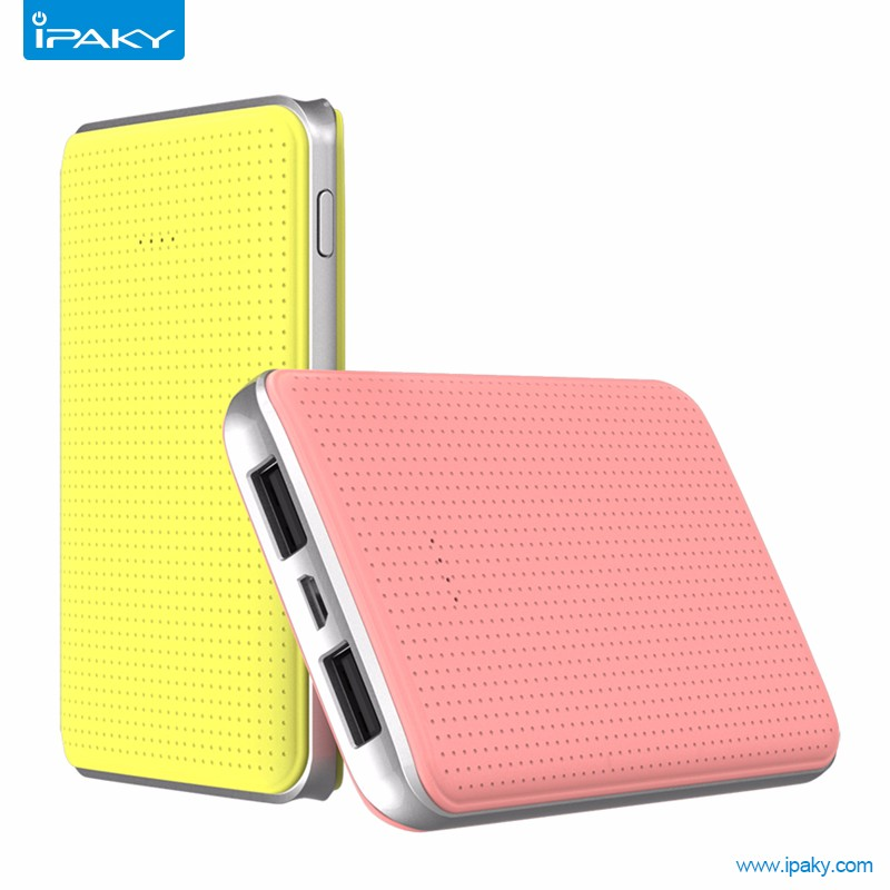 2016 newest ipaky Power Bank 5000 Mah Capacity,Portable Mobile Phone charger for cell phone