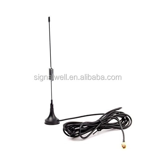 factory price 3.5DB 3G mobile antenna CRC9 connector GSM/UMTS antenna For Huawei USB modem