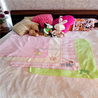 Custom-printed 100% polyester Micro polar fleece soft and warm baby blanket