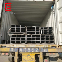 China material Q355 low alloy rectangular carbon steel pipe
