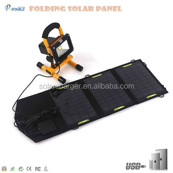 Hot ! 14W monocrystalline usb-port solar mobile charger for Satalite phone, GPS, cell phone