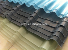 Double Layer Frp Roof Panel Corrugated Plastic Tranlucent Fiberglass Roofing Sheet