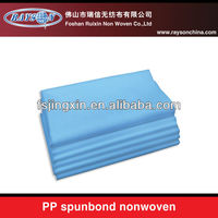 2014 Spunbonded nonwoven perforated fabric for bed sheet for massage salon