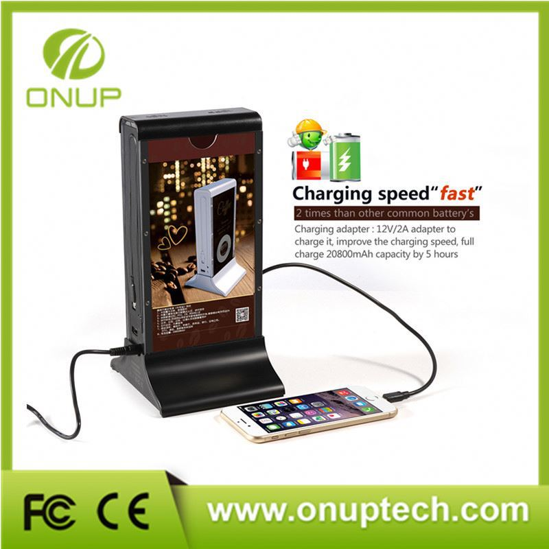 Hot Chinese Restaurant Equipment With Big Capacity Power Bank For Public Area