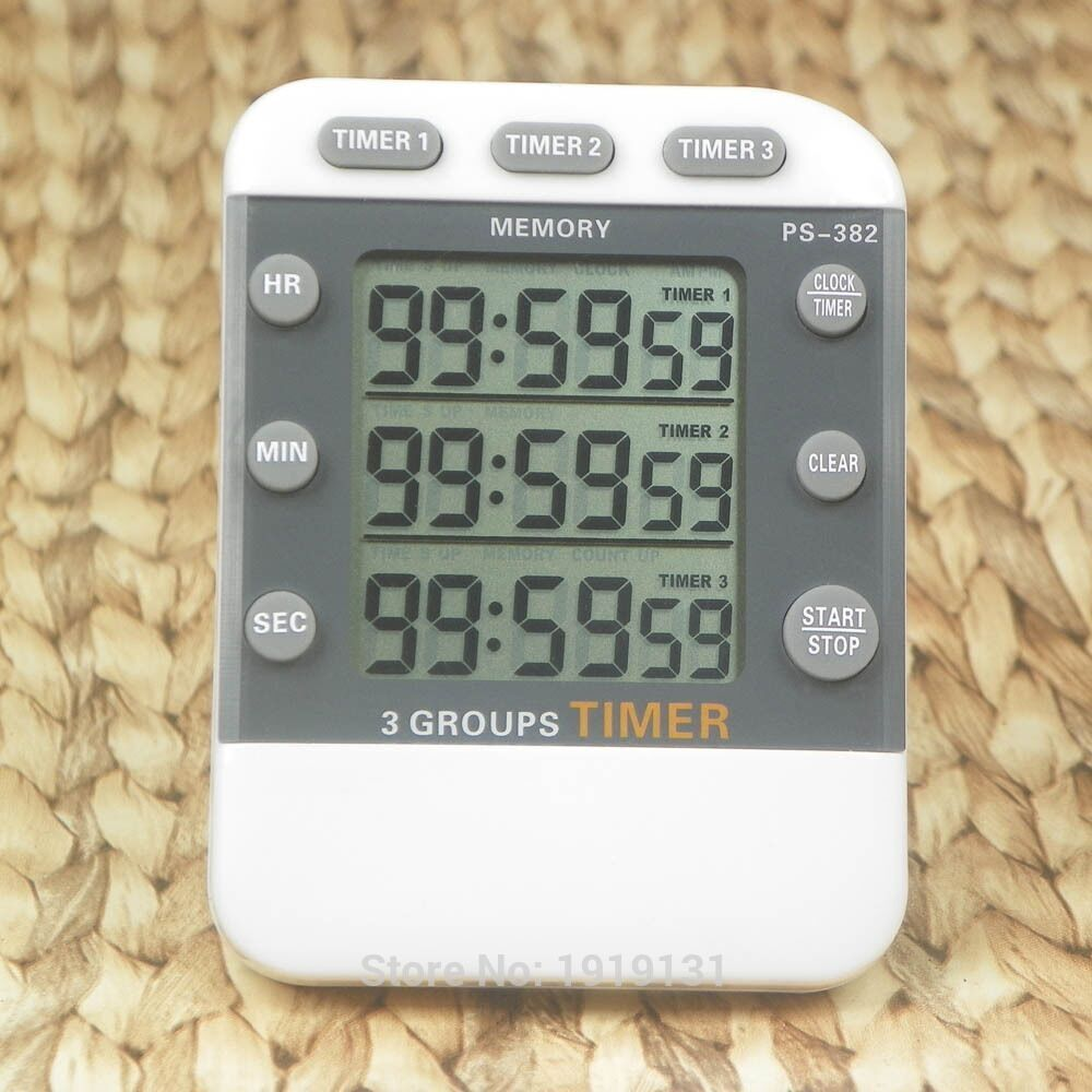 Miti-channel Kitchen Sports Reminder 99 Hours Digital Timers