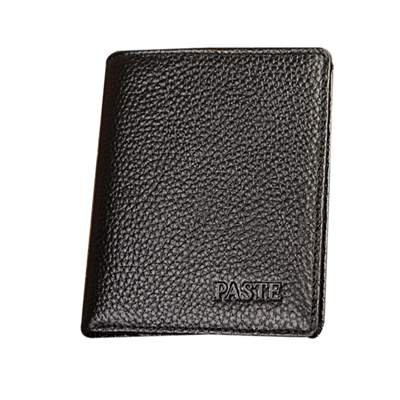 Mens Wallet Leather Genuine 2015 New Unsex European and American style Designers Famous Brand Cow Leather Solid Women Wallets