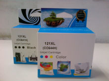 HP no.121XL B(CC641) Black and hp.121XL C (CC644)COLOUR