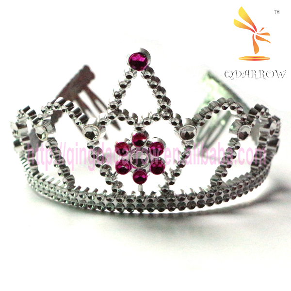 Flower Wholesale Children Doll Tiara and Crowns for Girls